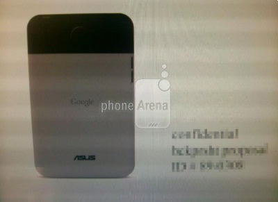 ASUS Google Nexus tablet
