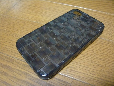 Acase iPhone4/4S Splendid ケース(ブラック)