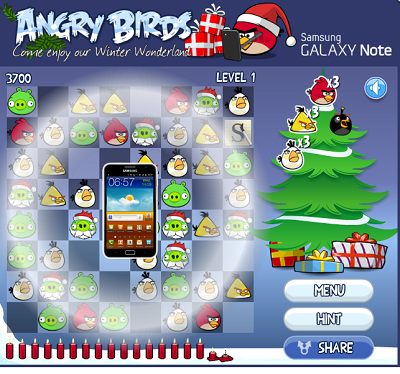 Galaxy Note AngryBirds