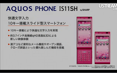 AQUOS Phone IS11SH
