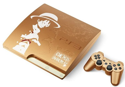 PlayStation 3 (320GB) ワンピース 海賊無双 GOLD EDITION (CEJH-10021)
