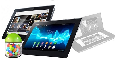 Sony Tablet Android 4.1 Jelly Bean